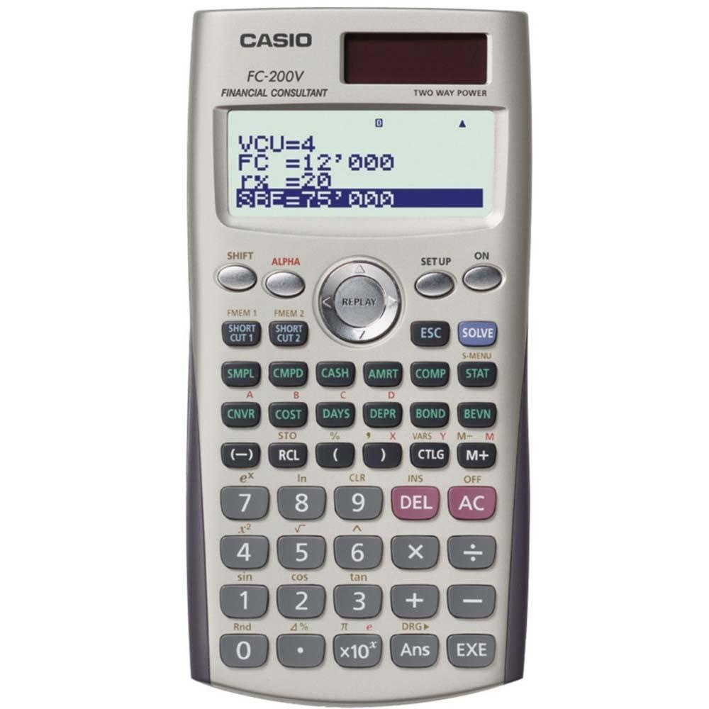 CASIO卡西歐財務型計算機(FC-200V)