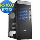 技嘉A320平台[旭日霸王]R5六核RX550獨顯電玩機