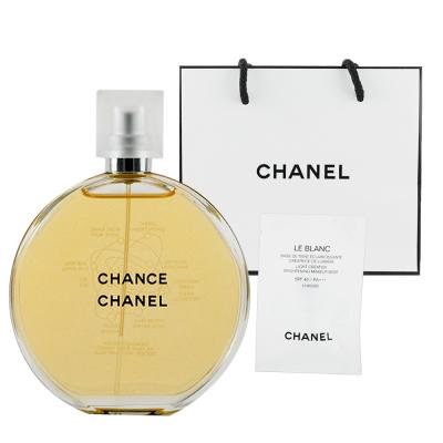 CHANEL香奈兒 CHANCE邂逅淡香水100ml  贈提袋及美妝小物