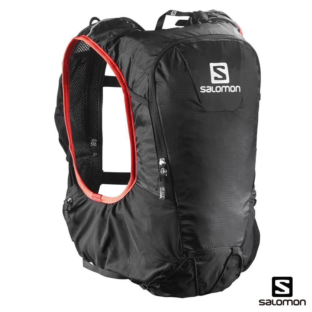 Salomon 水袋背包組 SKIN PRO 10 黑/紅