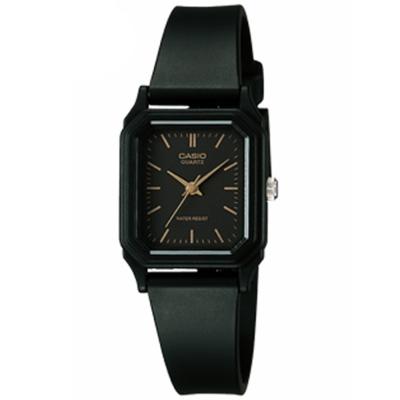 CASIO 輕便巧小運動指針錶(LQ-142-1E)-黑色丁字面x黑-22mm