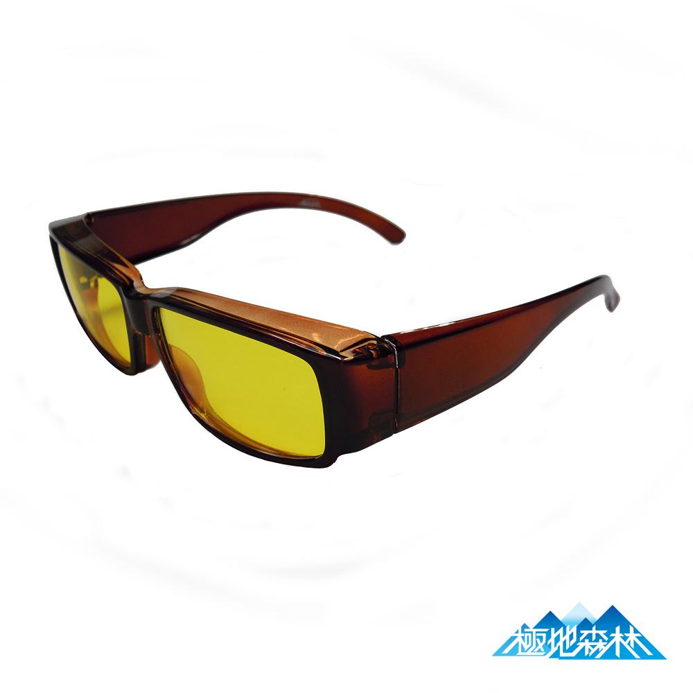 【極地森林】夜間專用黃色護目鏡(近視可用) 2764 - 快速到貨