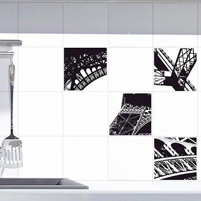 PLAGE 特寫Eiffel無痕磁磚壁貼