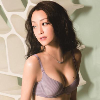 華歌爾-High Q記形D-E罩杯內衣(暮光紫)