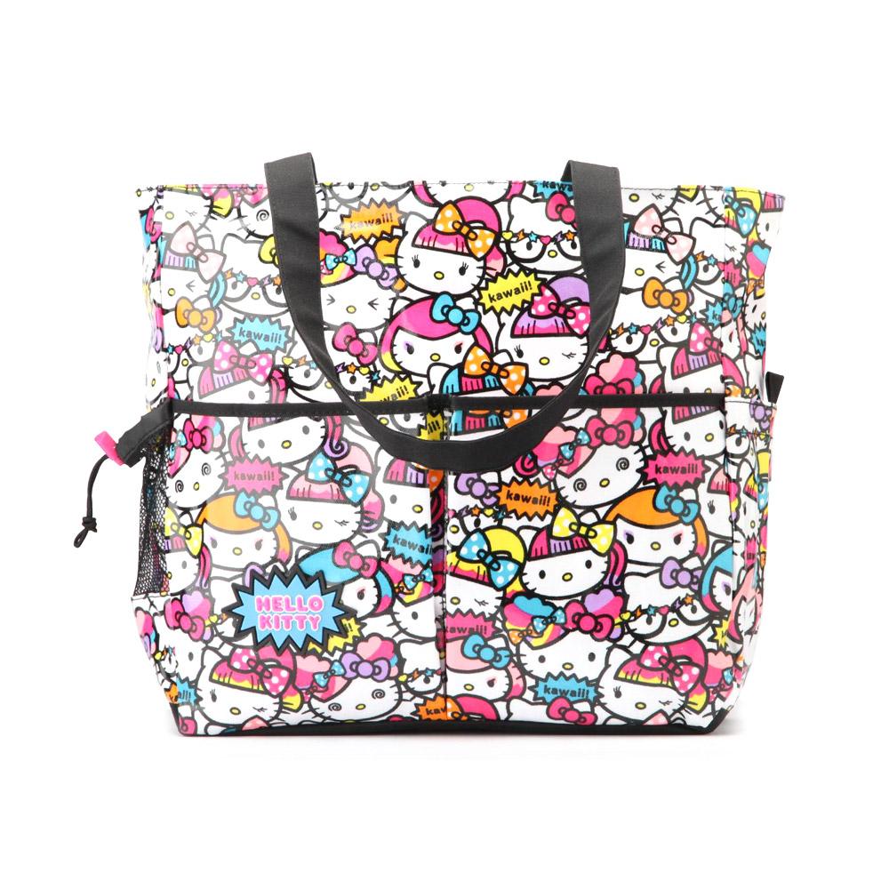 《Sanrio》HELLO KITTY可愛女孩系列側背提袋