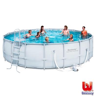《凡太奇》Bestway。18x52家庭式游泳池(圓形鋼框架)