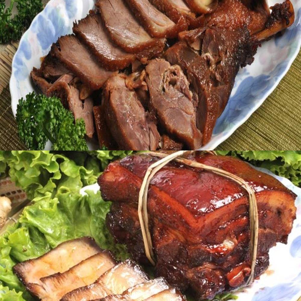 南門市場逸湘齋 東坡肉、冰糖醬鴨(1000g/2入)