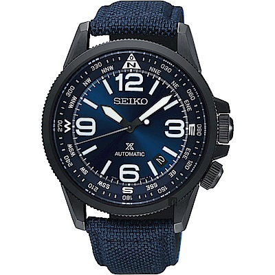 SEIKO精工 Prospex 空軍爭霸機械錶(SRPC31J1)-藍/42mm