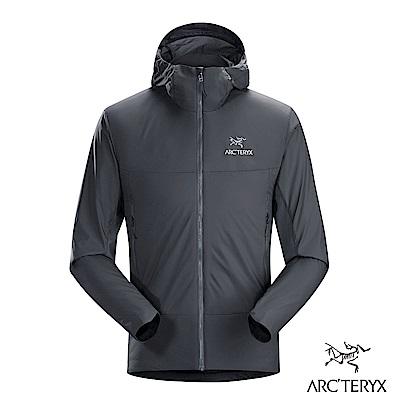 Arcteryx 始祖鳥 男 男 Atom SL 化纖保暖連帽外套 灰