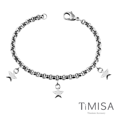 TiMISA《星空之戀》純鈦手鍊(S)