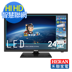 HERAN禾聯 24吋 HIHD 智慧聯網 LED液晶顯示器+視訊盒 HD-24I6A