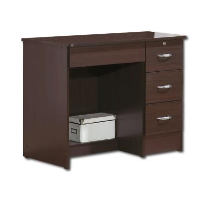 簡約風Poll胡桃3尺書桌 - 91x54x73cm
