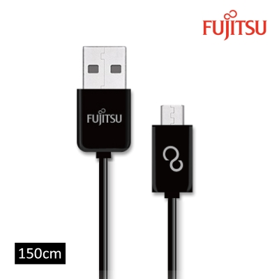 FUJITSU富士通MICRO USB傳輸充電圓線-150CM
