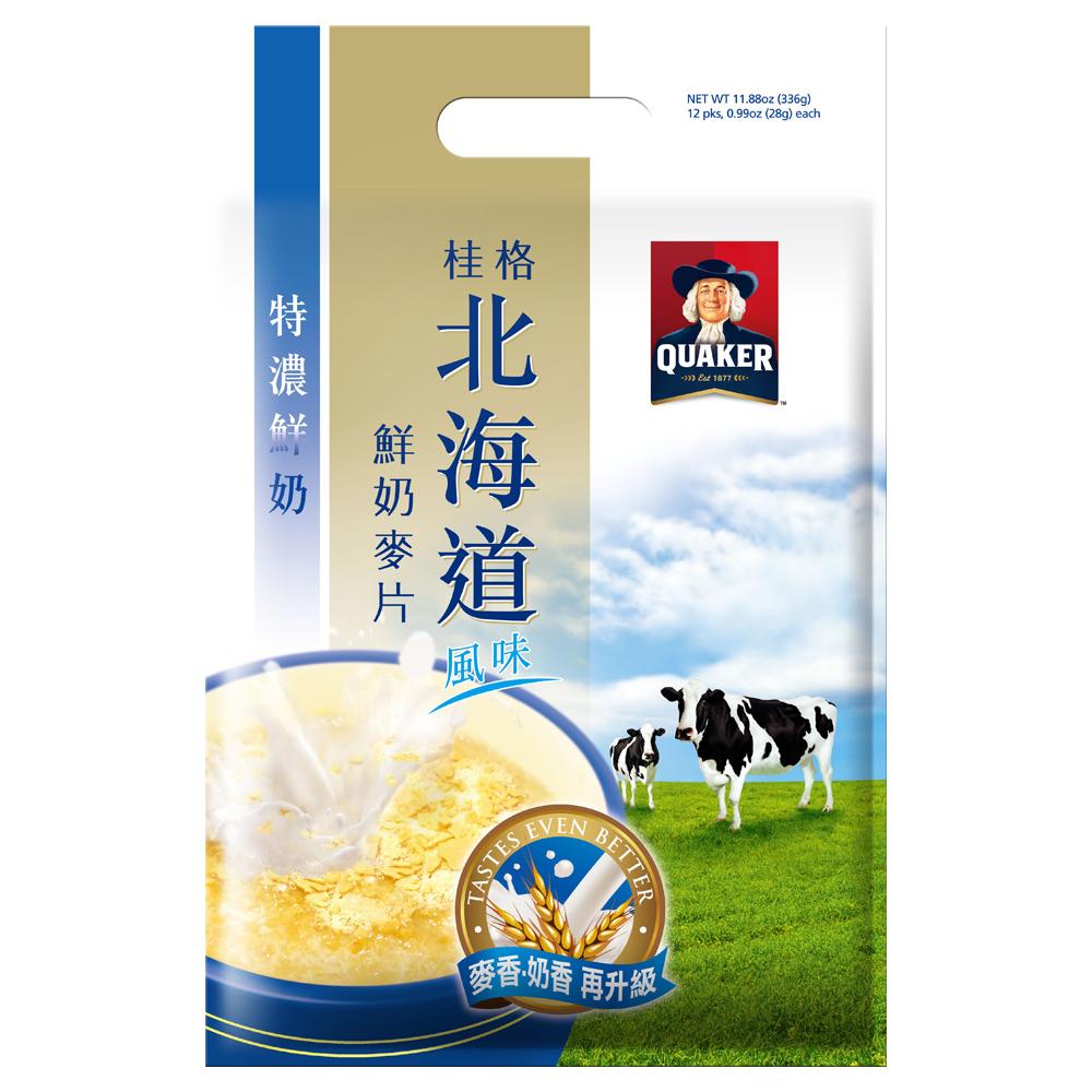 桂格 北海道特濃鮮奶麥片(28gx12包)