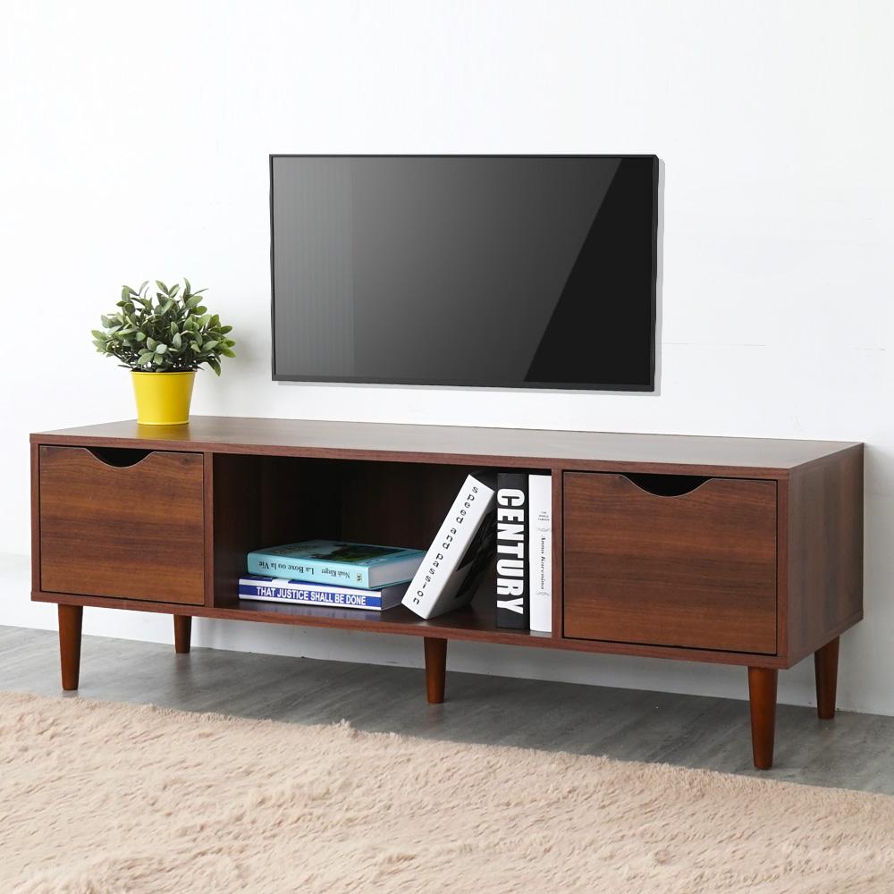 Homelike 瑞希二抽電視櫃(二色)-120x40x40cm