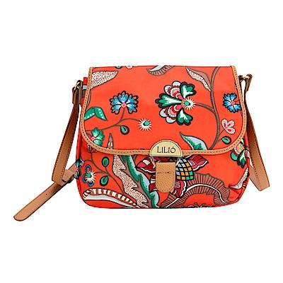 LiliO   側背包   印花度藝術植繪   S Shoulder Bag Nectarine