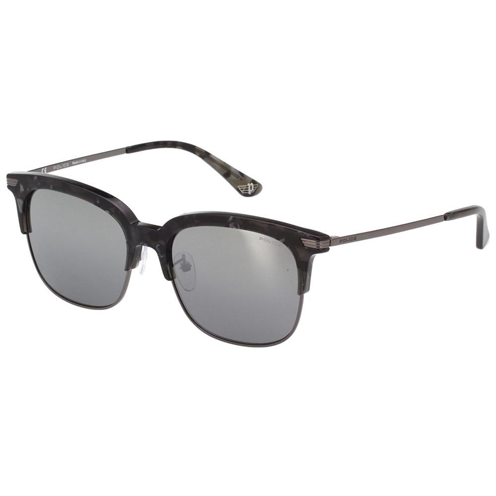 POLICE 水銀面太陽眼鏡 (黑花崗紋) SPL464G