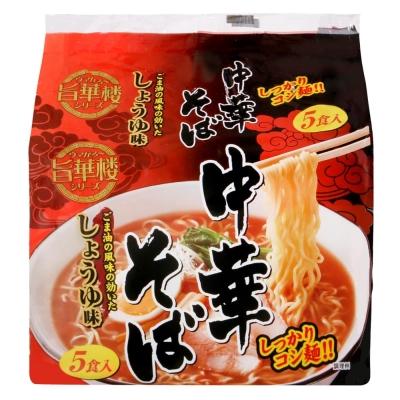 山本製粉 5入中華麵-醬油(455g)
