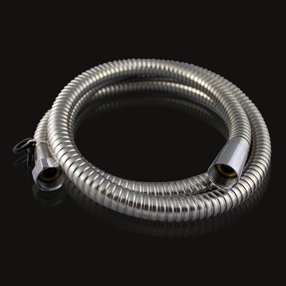 高級雙鉤不鏽鋼大流量軟管150CM