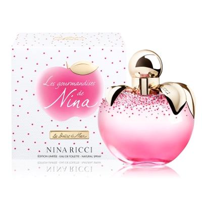NINA RICCI 蘋果繽紛樂女性淡香水 50 ml-加贈隨機小香