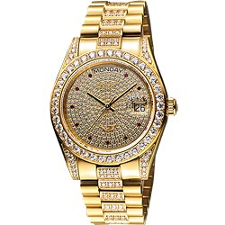 Ogival 滿天星晶鑽機械腕錶-39mm