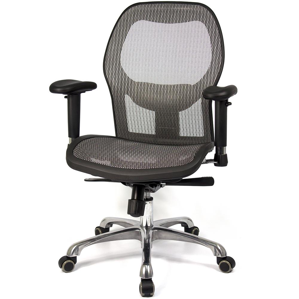 aaronation愛倫國度 透氣尼龍網背辦公椅/主管椅