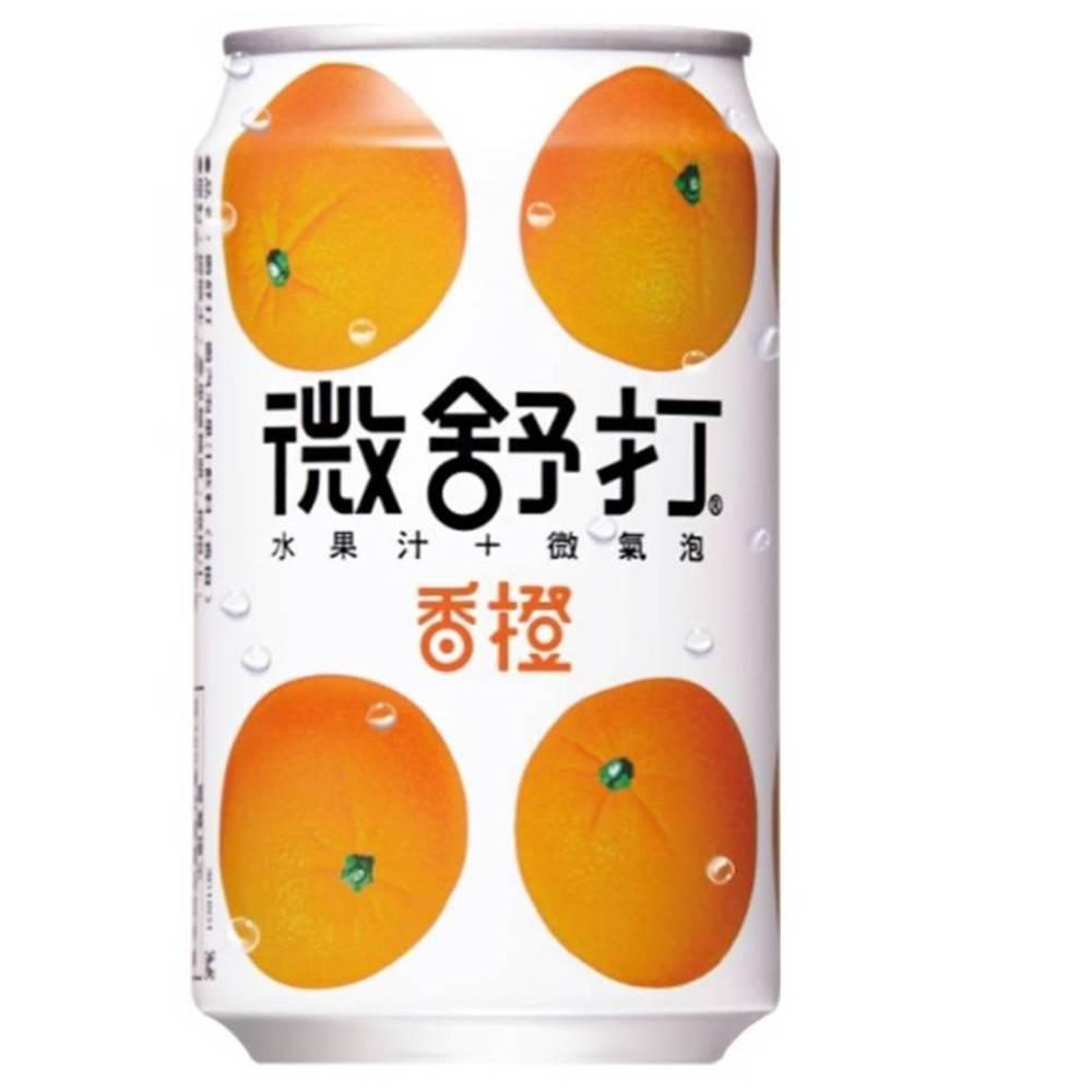微舒打 香橙口味(320mlx24入)