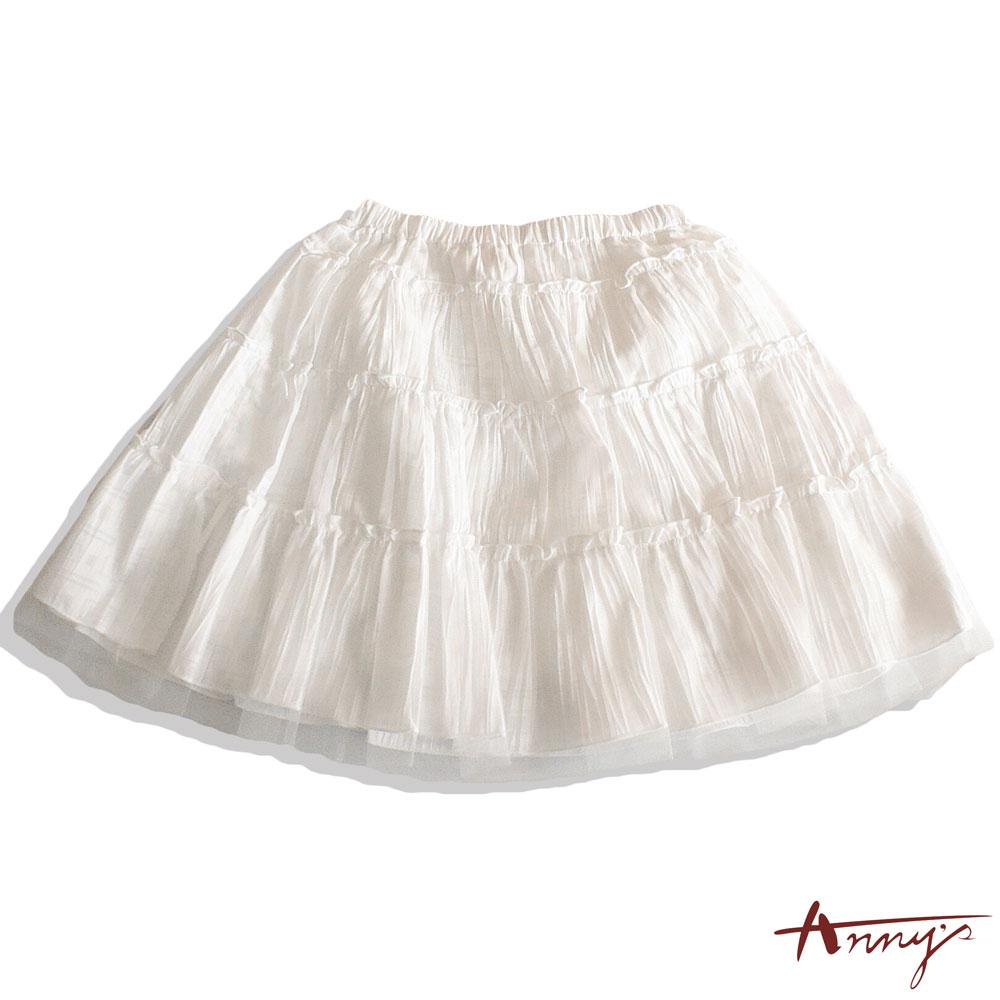 純白浪漫荷葉蓬蓬短裙*9164白