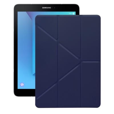 XM 三星 Galaxy Tab S3 9.7 T820 清新簡約超薄Y折皮套