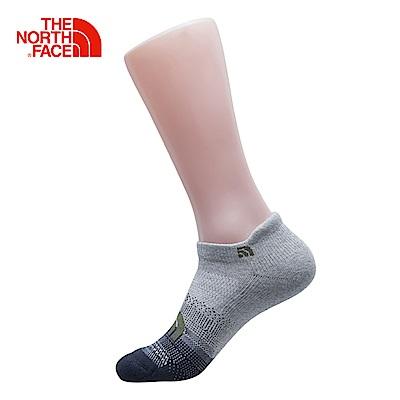 The North Face北面灰白色吸濕排汗運動襪