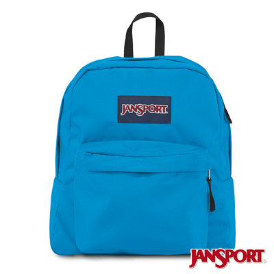 JanSport -SPRING BREAK系列校園後背包 -土耳其藍