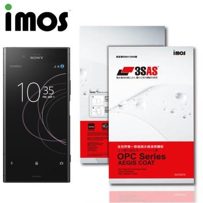 iMos Sony Xperia XZ1 3SAS 疏油疏水 螢幕保護貼