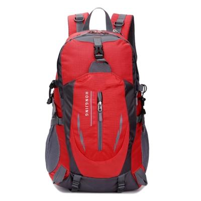 HONGJING雨翼戶外背包登山包fK8607RD紅色40L