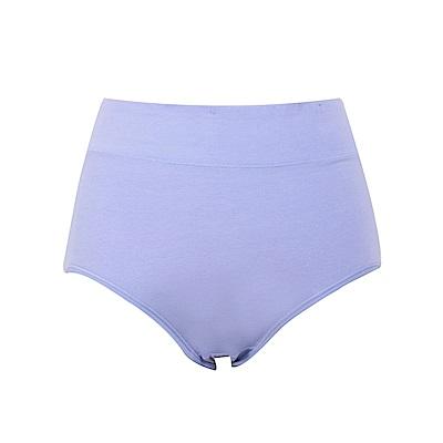 有機棉純色高腰內褲-OB大尺碼