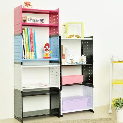 IKLOO宜酷屋_書房收納整理術 免安裝 書櫃/收納櫃輕鬆組3折起