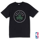 NBA-波士頓塞爾提克隊貼鑽圓領短T-黑(男)