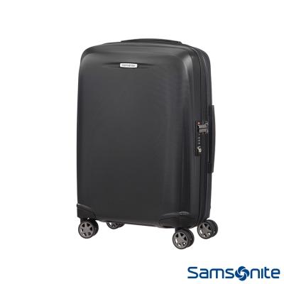 Samsonite新秀麗-20吋Starfire飛機輪TSA防刮耐磨PC登機箱-石墨黑