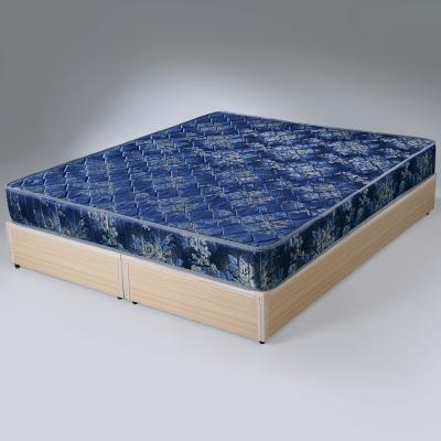Homelike 玫瑰緹花2.6硬式彈簧床墊 雙人加大6尺