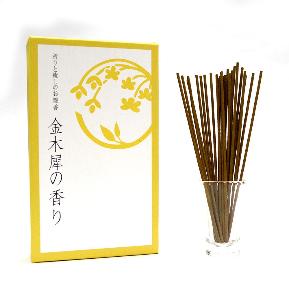 悠悠庵 祈癒之香-金木犀 大盒裝線香 100g (原價600)