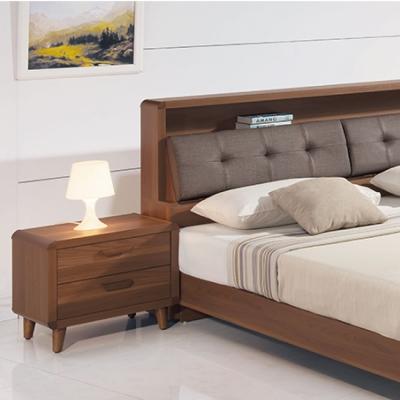 品家居 幸福莊園二抽床頭櫃-55x40x48cm-免組