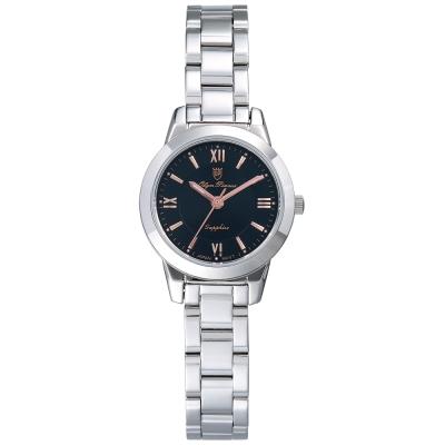 Olym Pianus 奧柏表 微甜馬卡龍時尚石英腕錶-黑/24mm