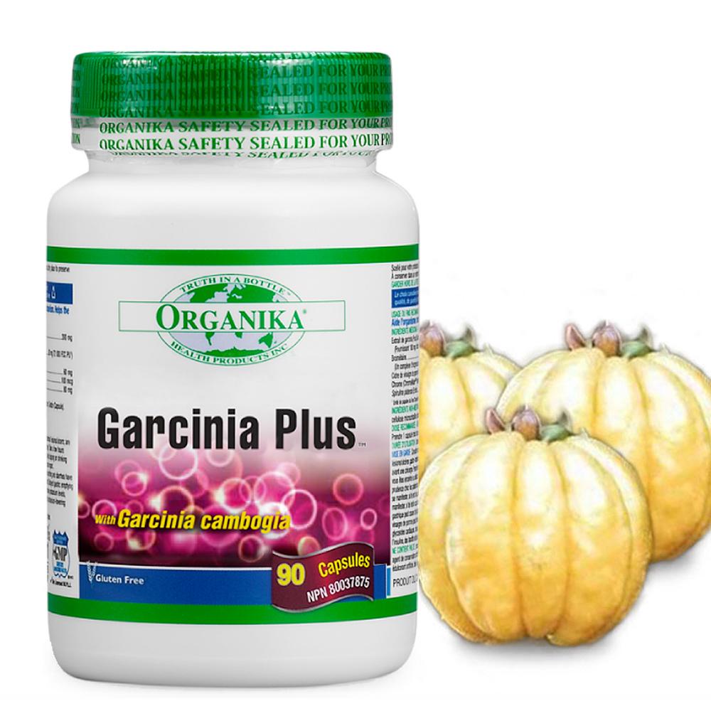 Organika優格康-高效五合一藤黃果膠囊(90顆)