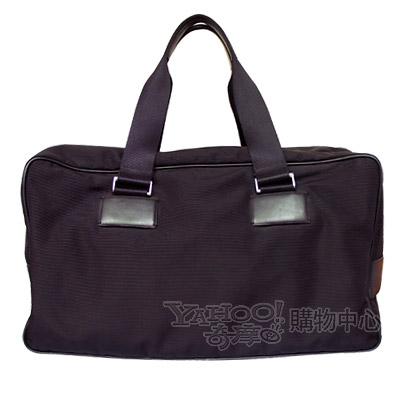 【PORSCHE DESIGN】時尚潮 雙把男士提袋-黑色