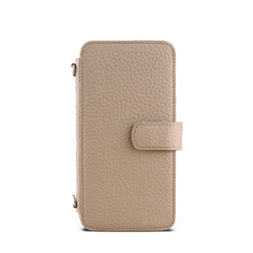 iPhone 5/5S/SE Style-J1 筆記本款PDA式接皮 客製皮套