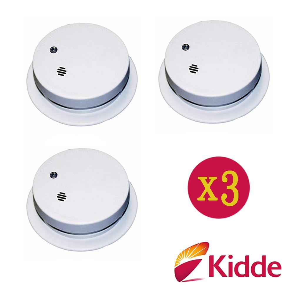 美國Kidde-火災煙霧專用警報器i9040E(3入組)