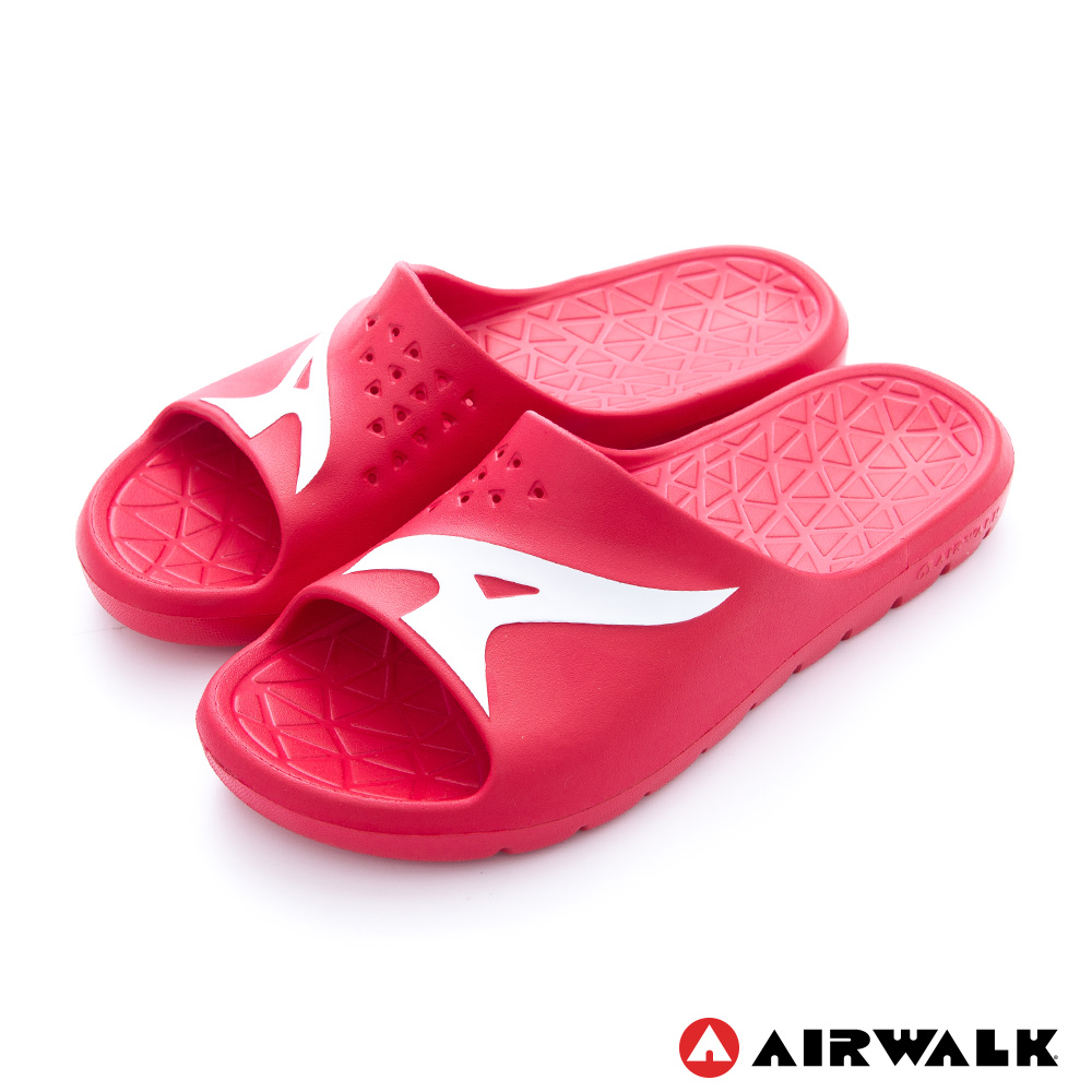 AIRWALK - AB拖 For your JUMP EVA拖鞋 - 深紅