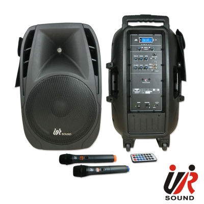 UR SOUND 200W藍芽/USB/SD雙頻無線擴音機 PA40