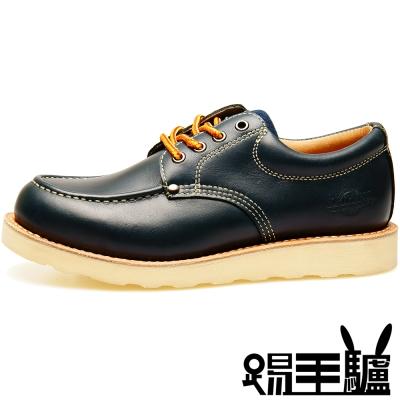 NORTHWEST手工軟木美式短筒休閒鞋TM-0458A S(海軍藍)