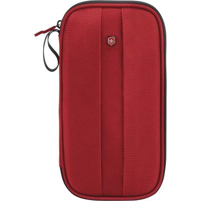 VICTORINOX瑞士維氏 RFID 尼龍證件包-紅