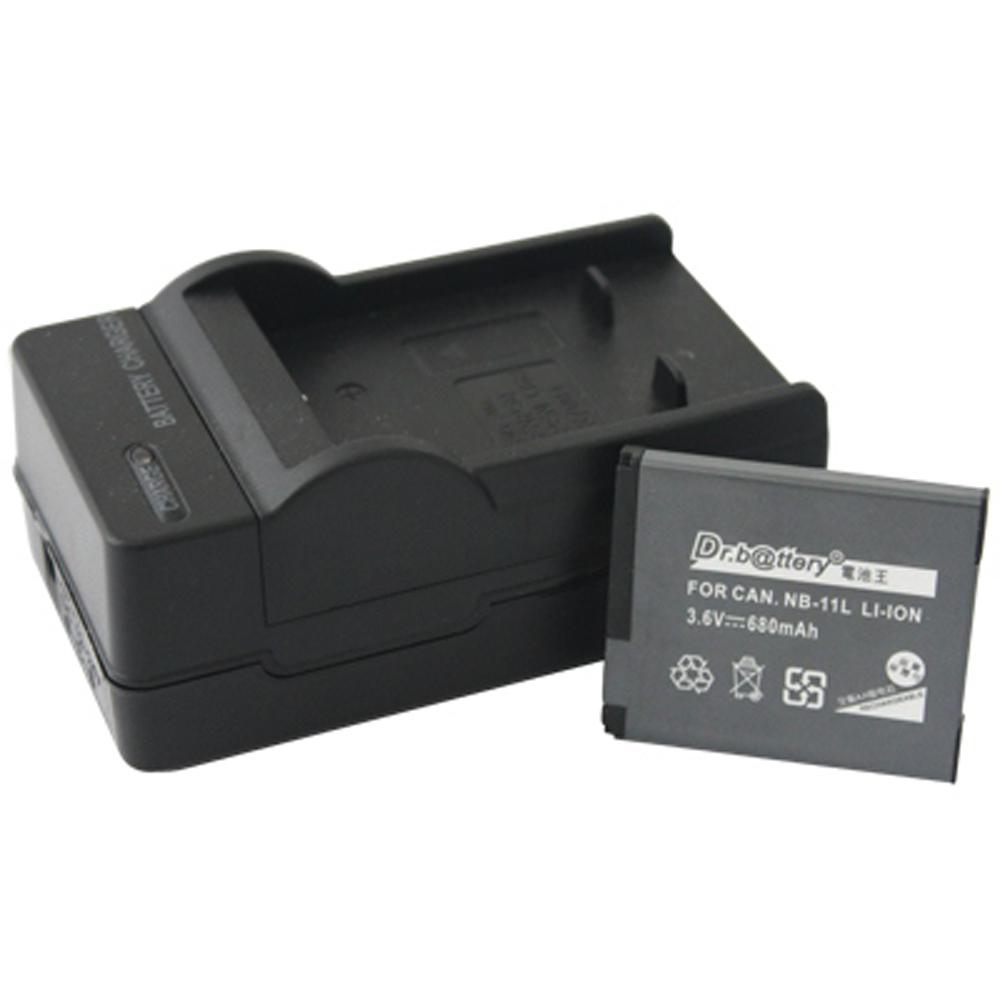 電池王 For Canon NB-11L 高容量鋰電池+充電器組